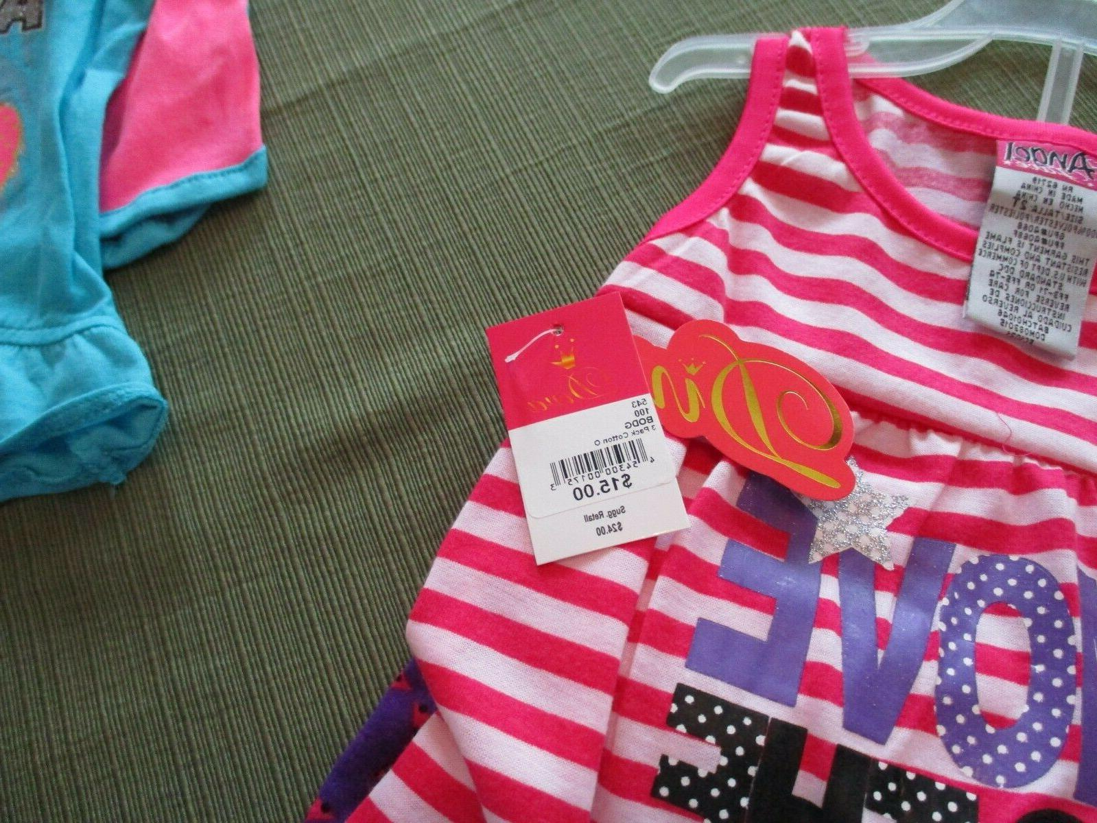 New! Lot of Two! Little girls short - 2T