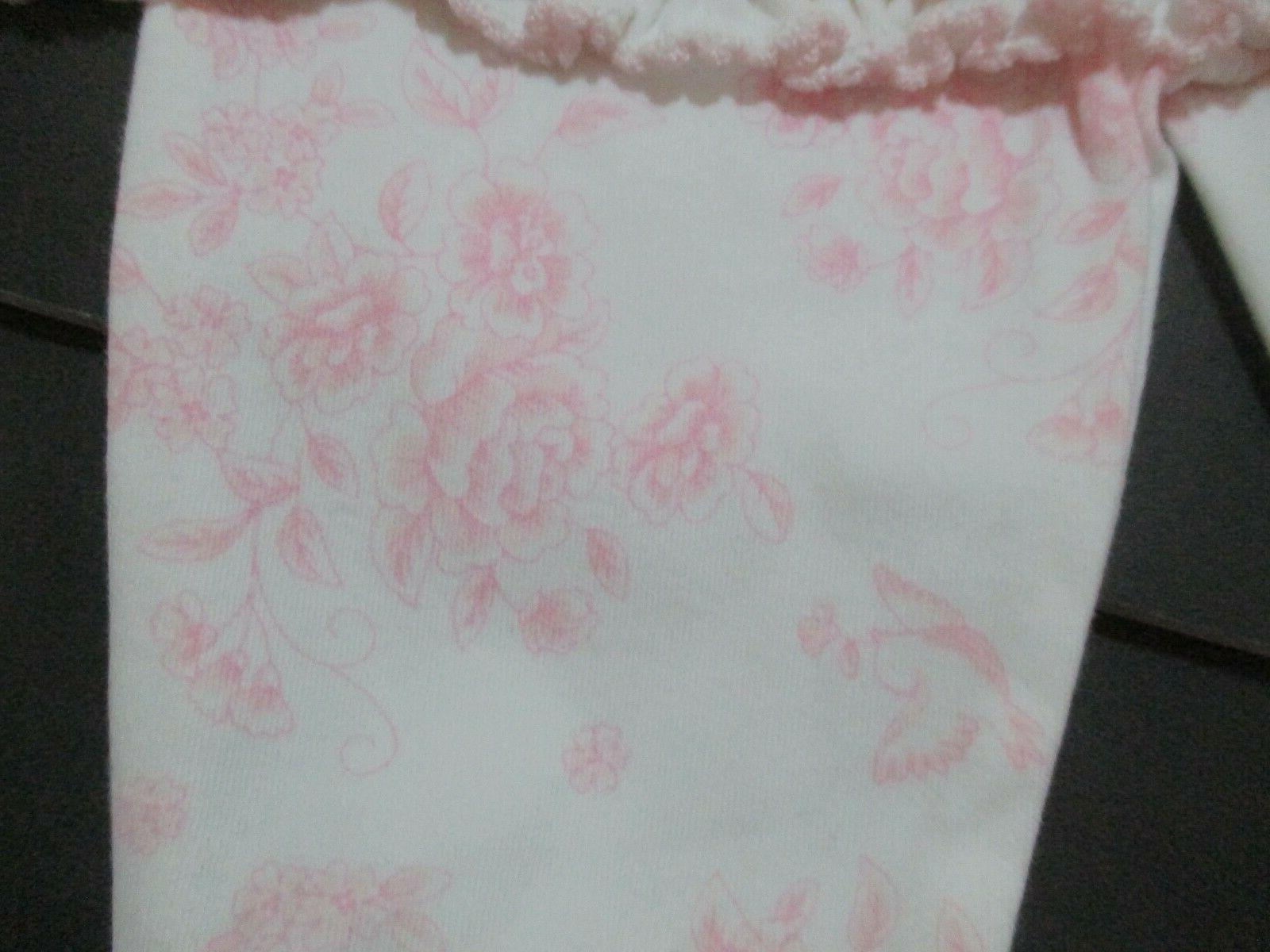 NEW LITTLE PINK TOILE DOT &