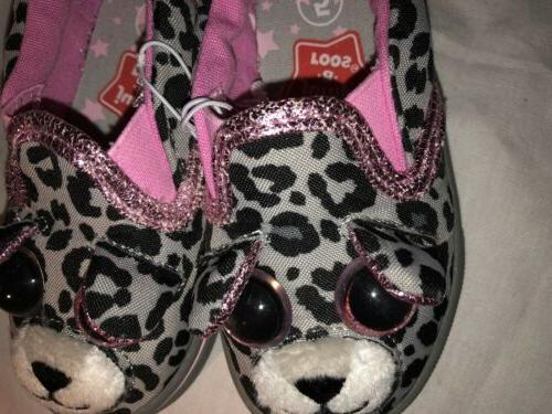NEW NWT Size 11 On Leopard Print Sneakers Shoes