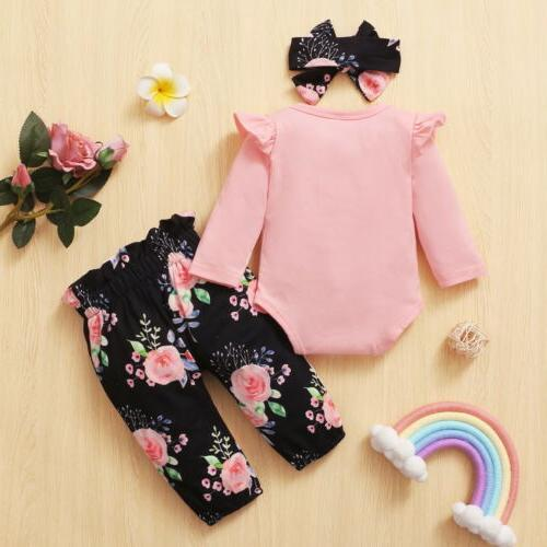 Newborn Baby Matching Clothes Big/Little Sister Romper Outfit