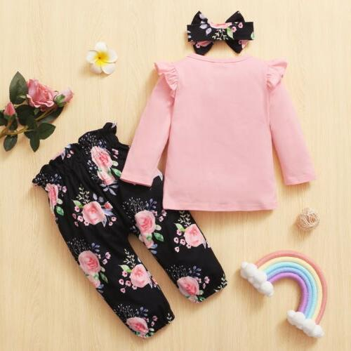 Newborn Baby Clothes Big/Little Romper Pants Outfit US