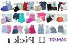 Nike Tee Shorts UA Carters ON Set Outfit Girls Top Bottoms S