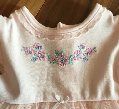 NWT Girls Pink Tulle Dress 12 Months