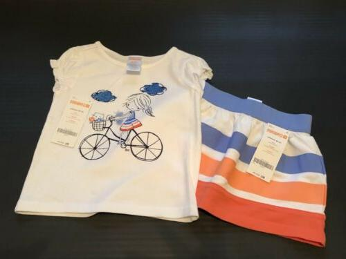 nwt infant girls 2pc outfit little girl
