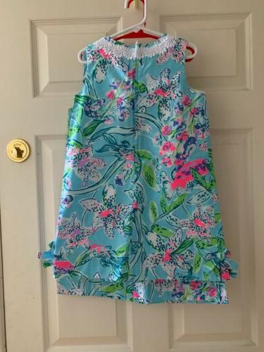 NWT Pulitzer Girls Shift Blue Sz Or