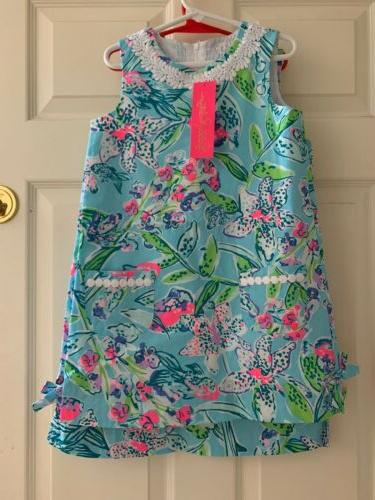 NWT Girls Classic Shift Blue Sz Or 8