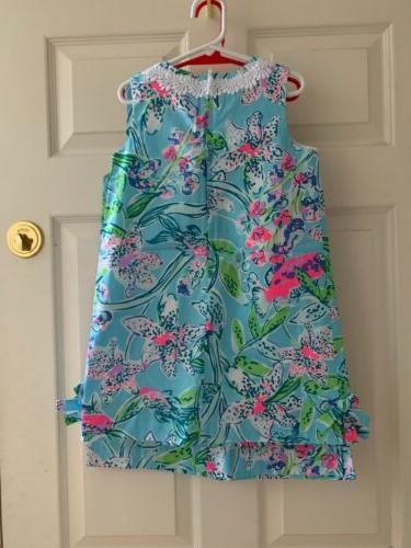 NWT Lilly Pulitzer Little Girls Classic Blue This Way Sz 6 Or