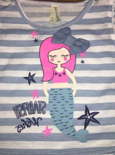 NWT Little Mermaid Dress Size 5 Boutique Bow puzzle Tin