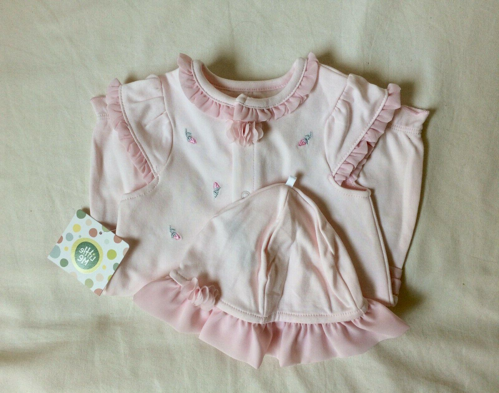nwt nordstrom 9m pink baby girl romper