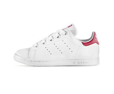 adidas Originals Girls' Stan Smith C Fashion Sneakers