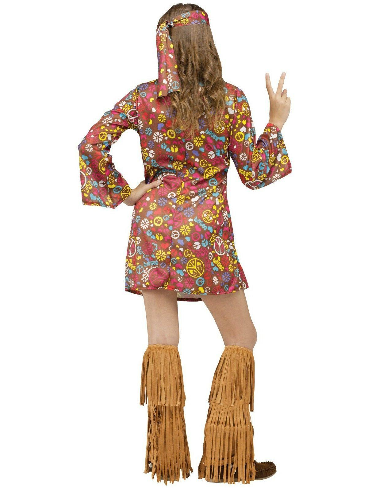 Peace and Love Hippie Groovy 60's Costume