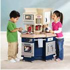 Kids Pretend Kitchen Play Set Toddler Cooking Toy Refrigerat