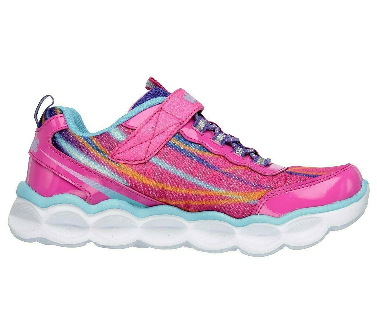 SKECHERS S Lights Up Lumos Shoes NWOT NEW size Tod/ Little