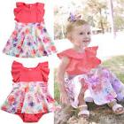 Summer Big/Little Sister Baby Romper Jumsuit Girl Kid Dresse
