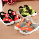 Summer Boy Girl Kid Sandals Closed Toe Toddler Baby Outdoor