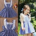 Summer Little Girls Dresses Fly Sleeve Baby Clothes Princess