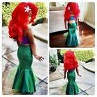 The Little Mermaid Dress Tail Princess Dress Ariel Costume G