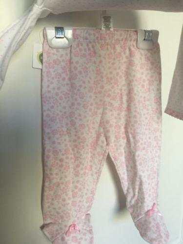 """Little Me """" Heaven Little Outfit With Bib 6 Months"""