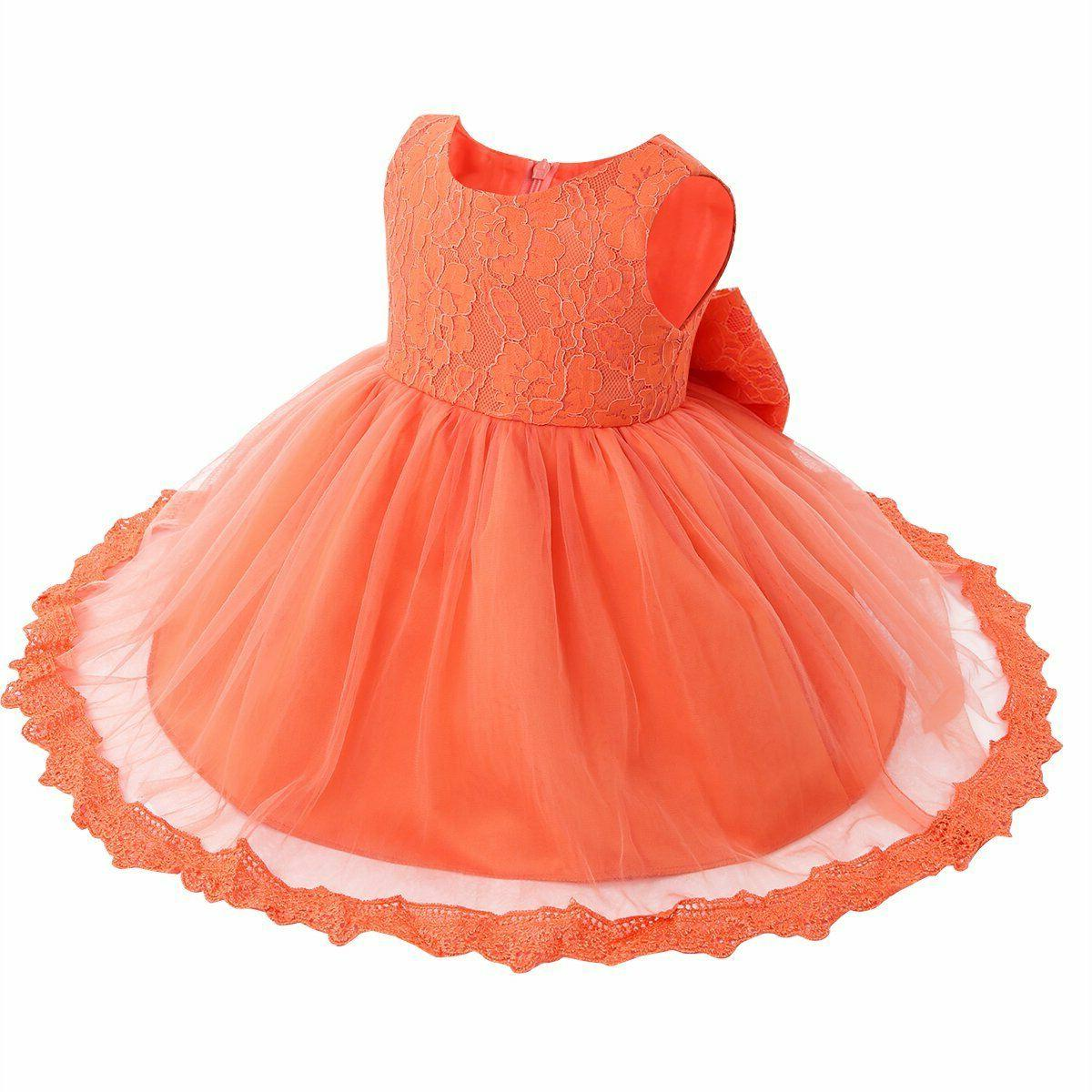 TiaoBug Baby Girls Flower Wedding Pageant Princess Communion Party Dress