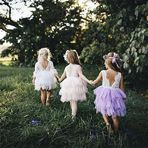Toddler Baby Girls Princess Lace Party