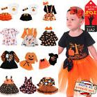 Toddler Kids Baby Girls Halloween Party Costume Clothes Fesi