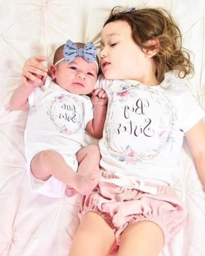 us baby kid girl sister matching clothes