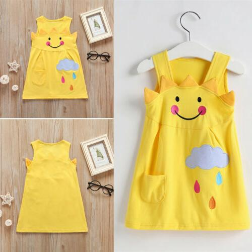 us baby kids girls cartoon little sun