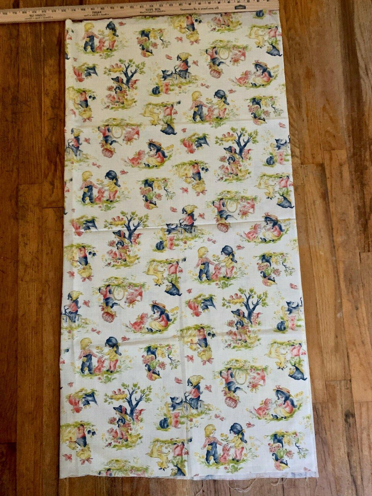 Vintage Fabric Playing Cotton