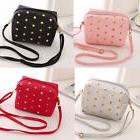 Women little Stud Purse Satchel Message Shoulder Small Bag G
