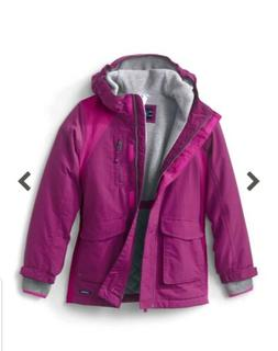 Lands' End Little Girls Squall Waterproof Winter Parka $109