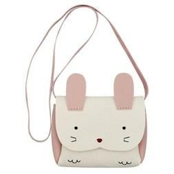 Little Girl Purse Cute Rabbit Shoulder Bag Mini Crossbody Sa