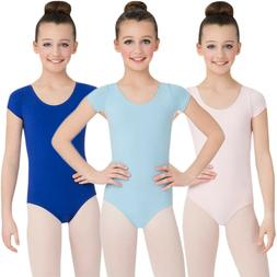 Capezio Little Girls Classic Short Sleeve Leotard  All Sizes