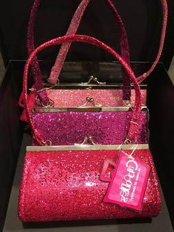 LITTLE GIRLS GLITTER PURSES NEW   BY CABOODLES MADE IN U.S.A