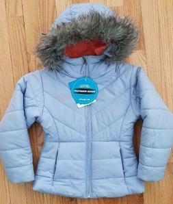 Columbia little Girls Katelyn Crest Jacket Hooded Insulated