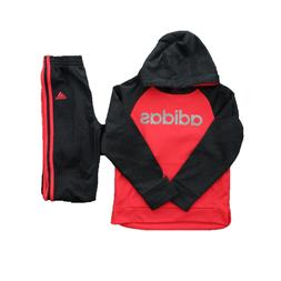 Adidas Little Girls Kids 2 Piece Tricot Hoodie Jacket and Pa
