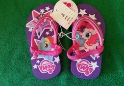 My Little Pony Little Girls Medium 7/8 Pink & Purple Flip Fl
