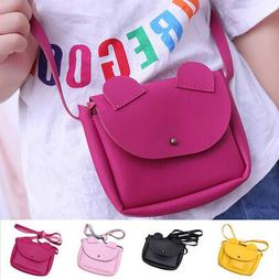 Women Little Girls Purses Handbag Cute Cat Ears Crossbody Sh