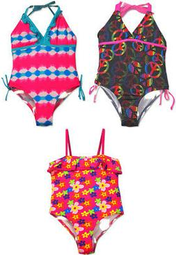 Pink Platinum Little Girls Sizes 4 - 6X One Piece Swimsuit S
