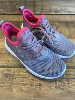 adidas Little Girls Sneaker Athletic Shoes, Size 1.5, Gray