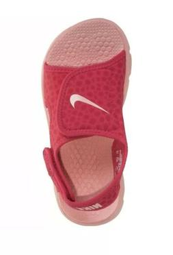 Nike Little Girls Sunray Adjust  Sandal Tropical Pink