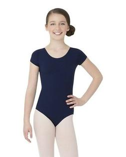 Capezio Little Girls Team Basic Short Sleeve Leotard  All Si