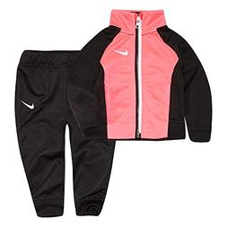 NIKE Little Girls` Therma-Fit Full Zip Hoodie & Jogging Pant