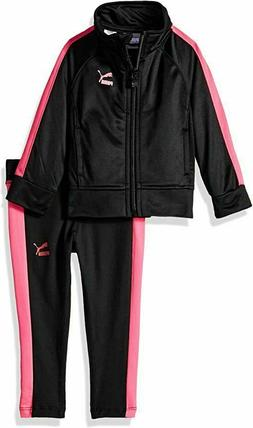 Puma Little Girls' Tricot Jacket and Legging Set