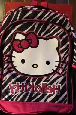 FAB Starpoint Little Girls'  Hello Kitty Black and White Zeb