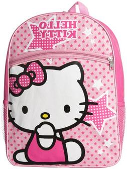 FAB Starpoint Little Girls' Hello Kitty Pink Stars Backpack