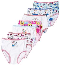 Handcraft Little Girls' Hello Kitty Underwear , Multi, 2T/3T