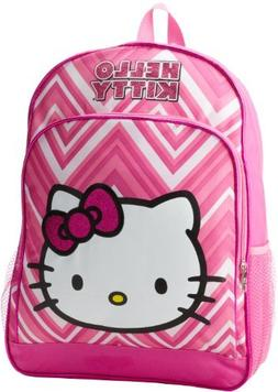 FAB Starpoint Little Girls'  Hello Kitty 16 Inch Zig Zag Bac