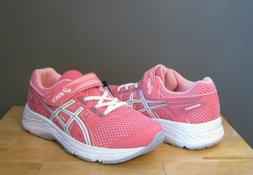 Asics Little Kid Girl Pink Cameo / White Contend 5 PS US 1 N