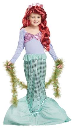 Little Mermaid Ariel Child Girl Dress Up Costume