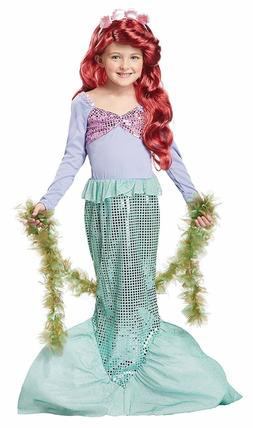 Little Mermaid Lil' Costume Dress-Up for Girls Kids CHOOSE S